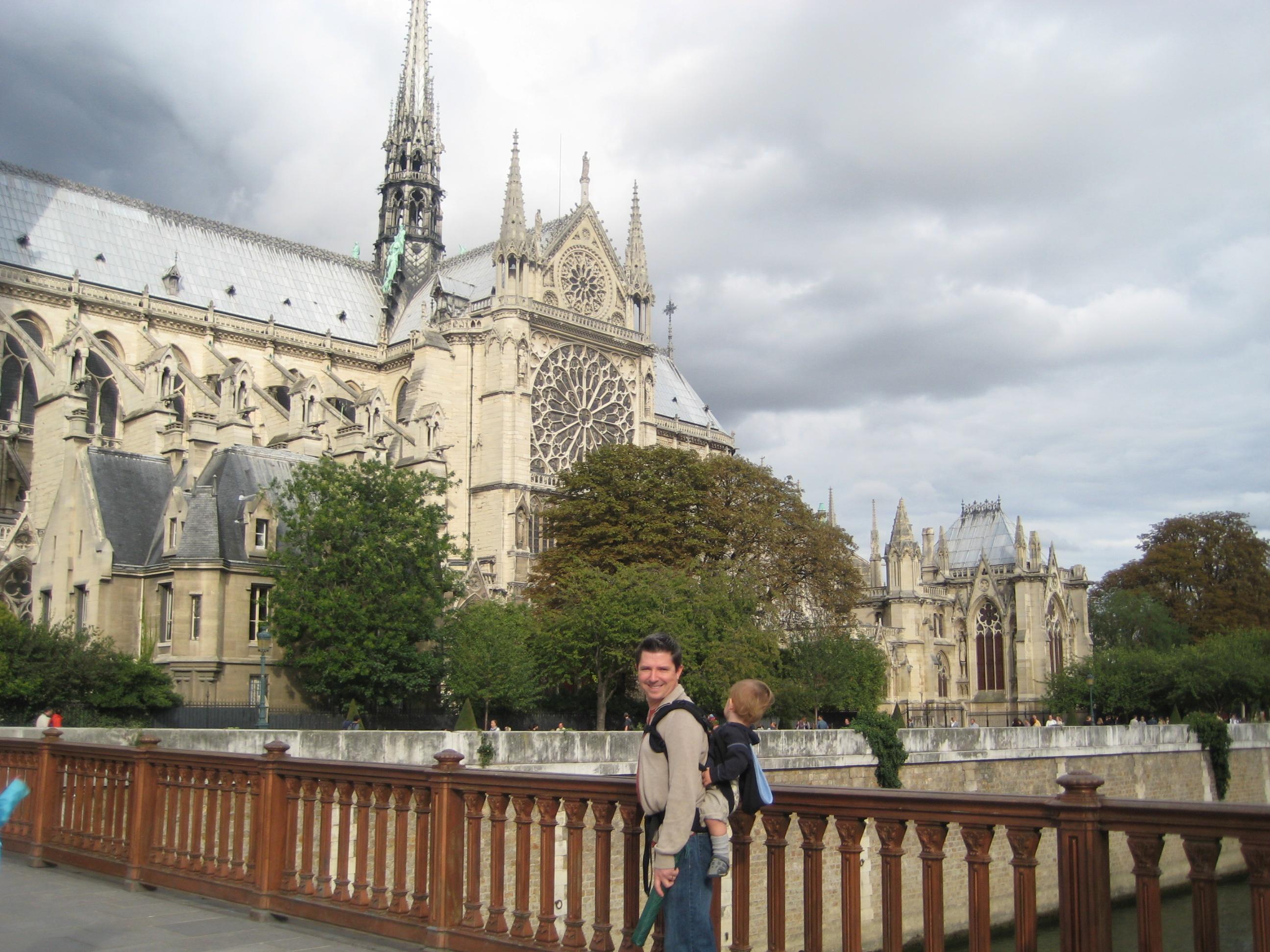 Sunday Evening in Paris – Notre Dame